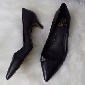 Vince Camuto 2.5 inch kitten heels size 10